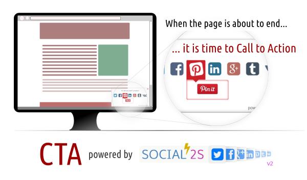 Joomla social call to action