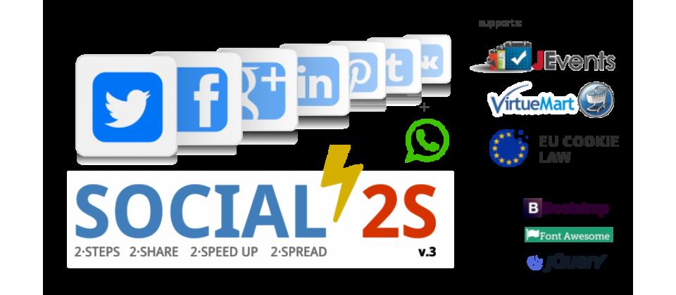 Social 2s condivisone social network e whatsapp articoli joomla