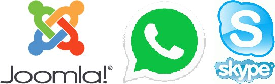 joomla Aggiungere WhatsAPP Skype